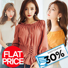 Only Limited today ★Free shipping★Korea Fashion tops collection★PLUS SIZE/TOPS/tank top/Sleeveless/Round-Neck/6Type