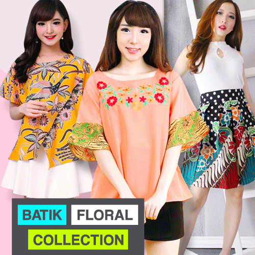 [FREE SHIPPING] Floral Batik Deals for only Rp100.000 instead of Rp100.000