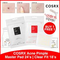 [B1F1!] COSRX Acne Pimple Patch 24s | Clear Fit | Serum