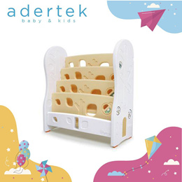 Design Open Book Shelf (4 level) ★ Adertek Baby and Kids