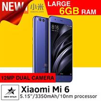 Xiaomi Mi 6 Smartphone / 64GB ROM + 6GB RAM / 5.15inch Display / Export Set w 1 mths Warranty