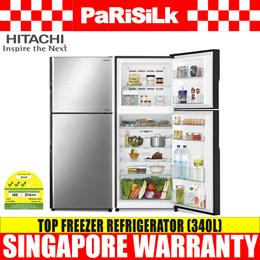 Hitachi R-V410P8MS BSL | BBK Top Freezer Refrigerator (340L)