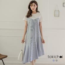 TOKICHOI - Fishtail T-shirt Dress-181053-Winter
