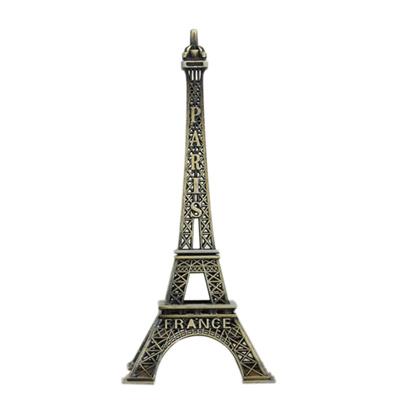 Vintage Tour Souvenir Eiffel Tower Paris France Souvenir Metal Model  5cm-25cm