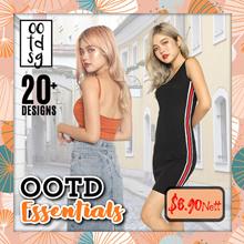 OOTD ESSENTIALS ★Daily Wear Basic series/★Womenswear★Kstyle★Dress/Tees