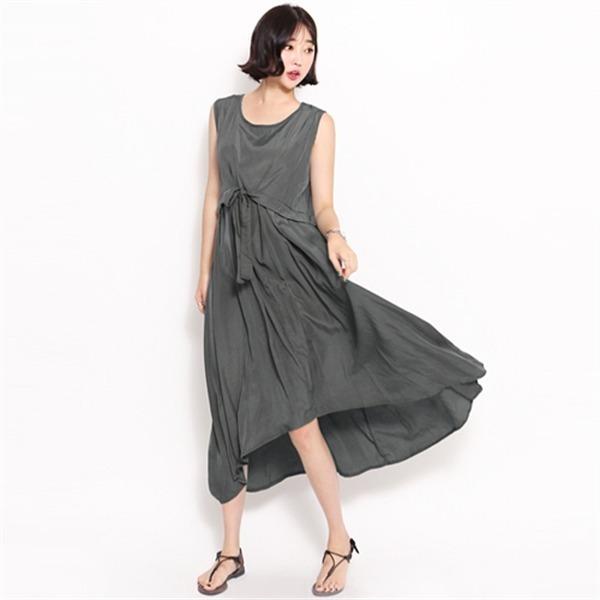 9907リチェルピンワンピースnew ロング/マキシワンピース/ワンピース/韓国ファッション