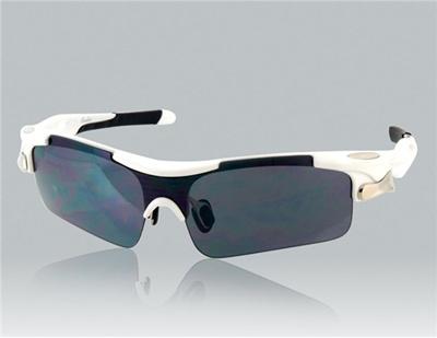 27ef0a4e57 OREKA WG005 White TR90 Frame   Gray PC Lenses Sports Riding Glasses (White)  M