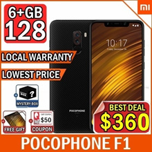 ★Mystery Gift★ Xiaomi POCOPHONE F1 6+128GB/ Local warranty / Armour Edition/Lowest Price In Qoo10 /