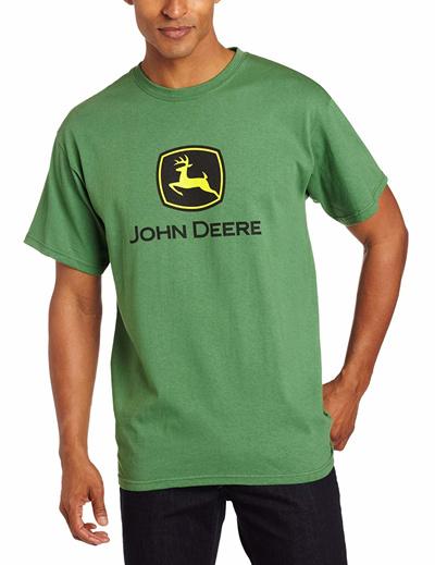 John Deere Baby Kids Boys Trademark Short Sleeve Tee