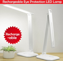 [BIG SIZE] Portable Rechargeable Eye Protection LED Table Lamp / Brightness Adjustablb