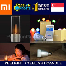 [CHEAPEST] SG Seller Blue II Xiaomi Colorful Yeelight Candle Light bulb Smart HOME Lighting Bluetoot