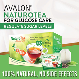 NaturoTea Regulate Blood Glucose Level   SUGAR FREE   Healthy Superfood Tea