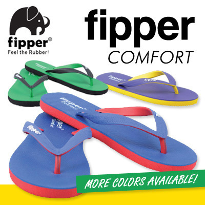eef46a56eb9d Authentic Brand! Fipper Slipper Flip Flop 100% Rubber Shoes Sandal