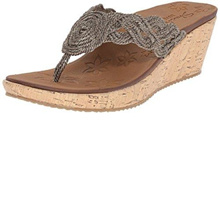 (Skechers)/Women s/Sandals/DIRECT FROM USA/Skechers Cali Women s Beverlee Wedge Sandal