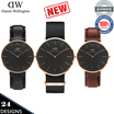 [Authenticity Guaranteed] ★NEW★ Daniel Wellington Classic Black Collection   For Men and Women 24 Designs Available