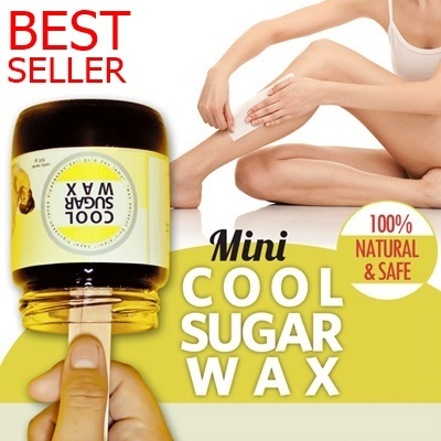 ?BEST SELLER? WITH NEW PACKAGE MINI COOL SUGAR WAX 250gr 100% NATURAL AND SAFE*Cabut Bulu dgn mudah Deals for only Rp100.000 instead of Rp100.000