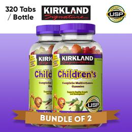 [미국 직구]★대용량★커클랜드 시그니처 어린이 비타민 젤리(320정)