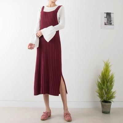 [Cookie 7] R7601 side open sleeveless golgi dress