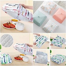 Insulation Food Cover Kitchen Insulated Foldable Storage