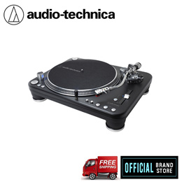 Audio-Technica AT-LP1240-USBXP Direct-Drive Professional DJ Turntable (USB  Analog)