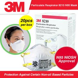 3M™ Particulate Respirator 8210 N95 Mask (20pcs/box) Original . Made in Singapore . 3M Sealed Guard