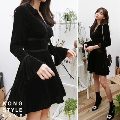 [kongstyle]韓國ファッション★フェードアウト、ops