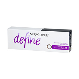 Johnson and Johnson 1-Day Acuvue Define Vivid Style (30pcs/box) PWR 0.00 ~ -8.00
