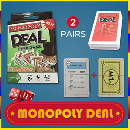 ♥SG warehouse delivery♥Monopoly deal millionaire board game