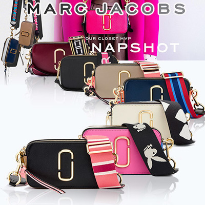 Marc Jacobs  12 Type Flat price Snapshot Camera Bag Authentic from USA ♥ 717b62f229