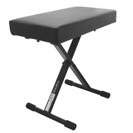 ONSTAGE KT7800+ DELUXE X STYLE KEYBOARD BENCH