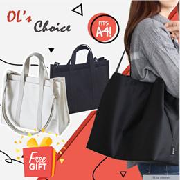 Office lady best choice tote bag should bag laptop bag A4 size canvas bag