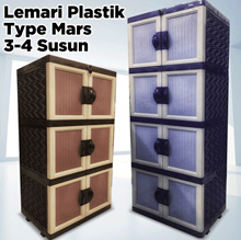 GMCC Lemari Plastik Type Mars 3-4 Susun