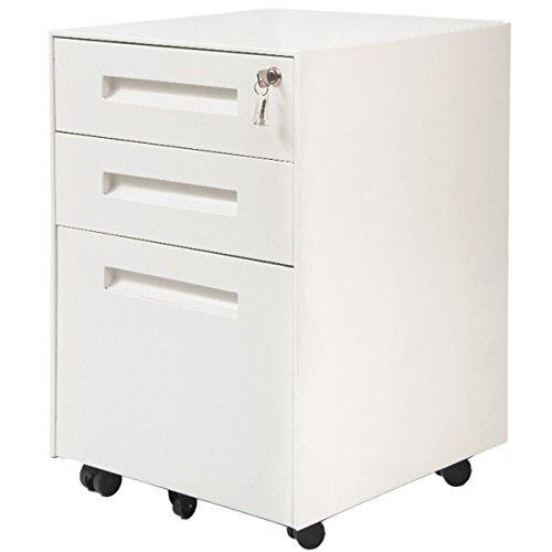 Drawer Metal Mobile File Cabinet