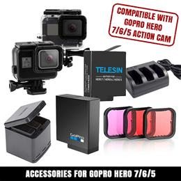 Gopro Grab Bag Mount Kit Para Hero 3 4 5 6 7 Accesorios de cámara Hd Go Pro