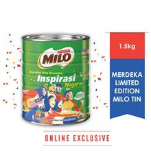 NESTLE MILO ACTIV-GO CHOCOLATE MALT POWDER Tin 1.5kg - Merdeka Edition
