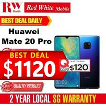 Huawei Mate 20 Pro- Huawei Singapore 2 Years Warranty