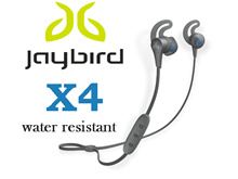 Jaybird X4 Bluetooth Wireless Sport In-Ear Headphones