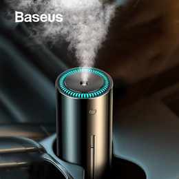 Baseus 300ml Alloy Air Humidifier Aroma Essential Oil Diffuser for Home Office Car Air Purifier Nano