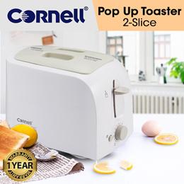Cornell 2 Slice Pop Up Bread Toaster Sandwich Toaster 650W (1 Year Warranty) CT-EDC38