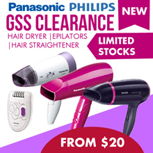 GSS Clearance! Panasonic Philips Hair Dryer |Epilators|Hair Straightener
