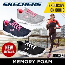 [SKECHERS] GRACEFUL AND FLEX APPEAL 2.0 | EXCLUSIVE on Qoo10 | Memory Shoes