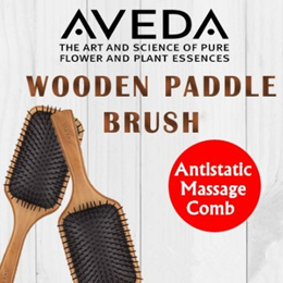90% OFF! CLEARANCE! Aveda Wooden Paddle Brush Comb detangle hair brush massage