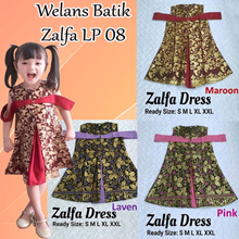 Welans Batik - Kebaya Anak - Zalfa Dress - LP08 Motif