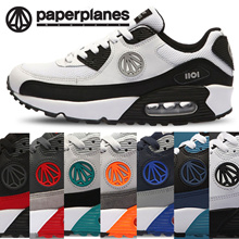 PaperPlanes Athletic Running Shoes Air Heel Leather Sneakers PP1101 Limited Edition Made in Korea