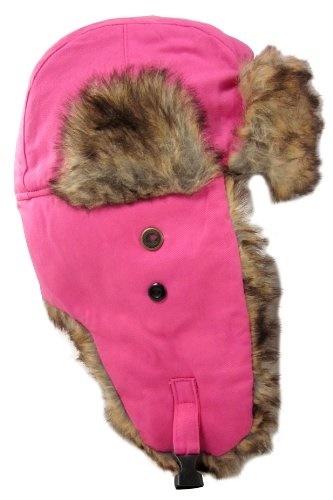 0d6512283f6 Qoo10 - Dakota Dan Trooper Ear Flap Cap w  Faux Fur Lining Hat ...