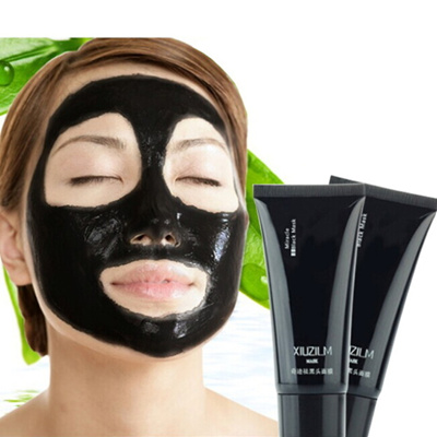 1Pcs Women Female Black Face Mask Blackhead Remover Black Mud Deep  Cleansing Masque Peel Off Black b8d563c528