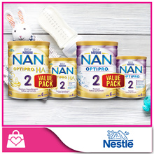 [VALUE PACK]Nestlé® NAN® OPTIPRO® 2 Follow-up Formula 800g+400g / H.A. 2 Follow-up Formula 800g+400g
