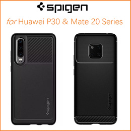 Spigen Huawei P30 / P30 Pro / Mate 20 / Mate 20 Pro / Case Cover Casing Phone Tempered Glass
