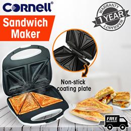 Cornell Sandwich Maker 700W (1 Year Warranty) CSM-2318