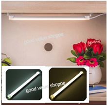 [SG] Portable USB LED Hard Strip Light Bar Study Table Kitchen Under Cabinet Tube Lamp w/ Switch